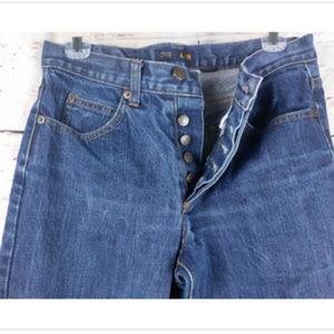 Vintage 90's J. Crew Button Fly Jeans High Waist